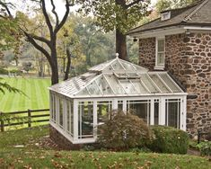 Conservatory with open roof vents - traditional - Greenhouses - Philadelphia - Town and Country Conservatories