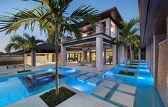 Blue Residence by Harwick in Florida