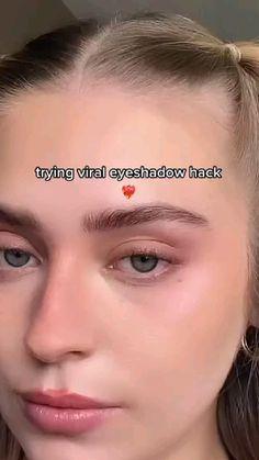 Makeup Eye Looks, Eye Makeup Art, Cute Makeup, Eyeshadow Looks, Pretty Makeup, Skin Makeup, Eyeshadow Makeup, Makeup Tips, Beauty Makeup