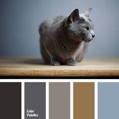 color of skins of Russian blue cat palettes with color ideas for decoration your house, wedding, hair or even nails. Pastel Palette, Blue Colour Palette, Color Tones, Blue Tones, Color Combos, Colour Schemes, Color Balance, Color Studies, Blue Cats
