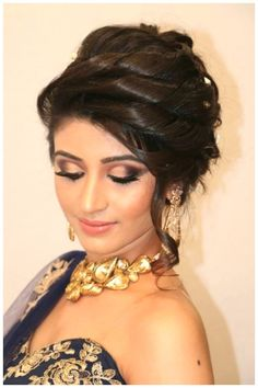 Engagement Hairstyles, Wedding Hairstyles For Long Hair, Indian Hairstyles, Medium Hairstyles, Hairstyles Haircuts, Latest Hairstyles, Latest Haircuts, Modern Haircuts, Formal Hairstyles