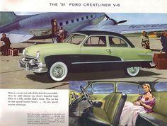 1951 Ford Crestliner V8
