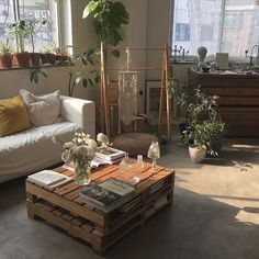 Minimal bohemian living room with natural light - house inspiration - . - Minimal bohemian living room with natural light – house inspiration – - Living Room Designs, Living Room Decor, Bedroom Decor, Living Rooms, Bedroom Ideas, Apartment Living, Dream Apartment, Studio Apartment, Room Ideias