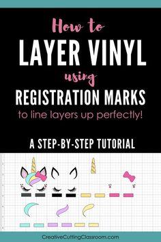 How to Layer Vinyl U