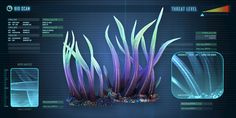 Writhing Weed is a flora species found mainly in shallower biomes. The player can cut it with a knife to obtain Writhing Weed Seeds. Subnautica Base, Subnautica Creatures, Subnautica Concept Art, Alien Plants, Space Aliens, 10th Birthday Parties, Alien Worlds, Creature Concept, Biomes