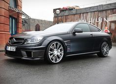 Brabus Bullit Coupe 800 Based on the C63 AMG, this iteration is far more potent, with a fat twin-turbo V12 from the S600 shoehorned into the engine bay. Brabus even upped the displacement from a healthy 5.5 liters to 6.3 liters with an output of 788 horsepower. The performance is astounding, with 60 arriving in 3.7 seconds and a top speed of 230 mph - in sleek matte black paint(2012)...x