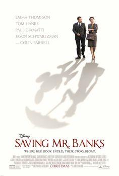 Saving Mr Banks Walt Disney P L Travers Mary Poppins Disney movie