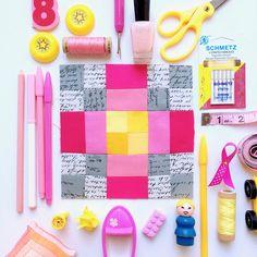 My Go-Go Life: The Splendid Sampler Block #95 Sunshine