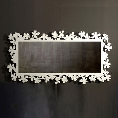 not norm Accent lighting home decor new | Italian Contemporary Furniture Flower Ornate Landscape Wall Mirror For ...