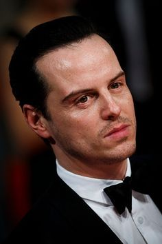 Andrew Scott attends The Weinstein Company, Entertainment Film Distributor, StudioCanal 2015 BAFTA After Party in partnership with GREY GOOSE at Rosewood London on February 2015 in London, England. Sherlock Actor, Sherlock Holmes Bbc, Sherlock John, Martin Freeman, Benedict Cumberbatch, James Moriarty, Mark Gatiss, Impossible Dream, Andrew Scott