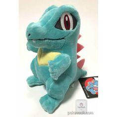 Pokemon Center 2016 Totodile Plush Toy Cute Stuffed Animals, Dinosaur Stuffed Animal, Pokemon Merchandise, Pokemon Dolls, Pokemon Collection, Poker, Plush Pattern, Cool Pokemon, Cute Animal Pictures