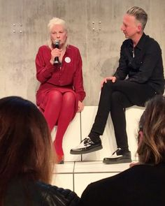 """I think you have to make a choice and I think that at least 50% of the people in the world have never made a choice in their lives says Vivienne Westwood. Check out this clip where the iconic @viviennewestwood is spreading her words of wisdom at the Bread & Butter Event by Zalando. Thank you @zalando for having us and bringing us such an inspiring and impressive event! #zalando #breadandbutter17 #viviennewestwood  via ZOO MAGAZINE OFFICIAL INSTAGRAM - Celebrity  Fashion  Haute Couture…"