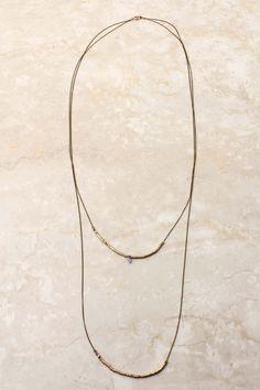 Amethyst Hailey Charm Necklace | Emma Stine Jewelry Bracelets