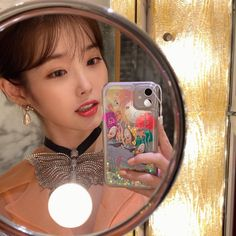 Uploaded by Mae💋. Find images and videos about kpop, Queen and gucci on We Heart It - the app to get lost in what you love. Iu Twitter, Foto E Video, Photo And Video, Blackpink Video, Iu Fashion, Color Fashion, Cute Cases, Suho, Kpop Girls