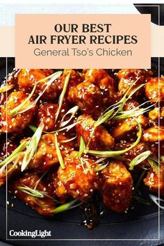 Air fried General Tso's ChickenYou can find Airfryer and more on our website.Air fried General Tso's Chicken Air Fryer Recipes Wings, Air Fryer Recipes Appetizers, Air Fryer Recipes Vegetables, Air Fryer Recipes Snacks, Air Fryer Recipes Vegetarian, Air Fryer Recipes Low Carb, Air Fryer Recipes Breakfast, Air Fryer Dinner Recipes, Cooking Recipes