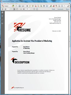 executive resume sample create your own custom proposal using the