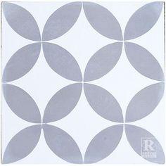 Rustico Tile & Stone MeaLu x Cement Field Tile Pastel Grey, Retro Bathrooms, Geometric Tiles, Encaustic Tile, Concrete Projects, Contemporary Home Decor, Pattern Wallpaper, Decoration, Kids Rugs