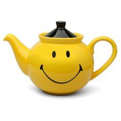 Teapot | Waechtersbach - Smiley Yellow Teapot With Lid 1.5L ~