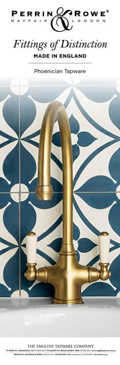 Looking to buy quality traditional kitchen taps? Fall in love with Perrin & Rowe's traditional tap collection. Made in the UK with real craftsmanship. House Materials, Kitchen Taps, Kitchen Inspirations, Traditional Kitchen, Interior Designers, Fittings, Homeowner, Kitchen Mixer, Brass Tap