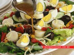 Receita de Salada mista                                                                                                                                                                                 Mais