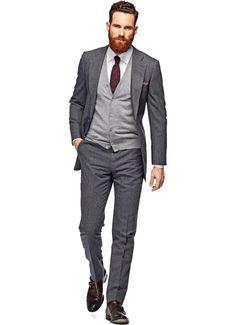 Lazio Grey Stripe suit, Suitsupply