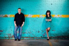 Jonesboro, Arkansas Photographer. Captured By Cottingham Photography. Downtown Engagement Session. Edgy, Urban love.