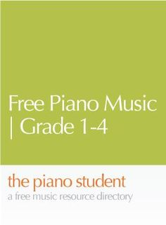 This free piano sheet music collection from Take-A-Piano-Sheet-Music-Break.com is fantastic. It includes many of the classical music favorites, and is organized in sequence from grade 1-4.  The gra…