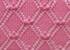 Fıstıklı Baklava Dilimi Battaniye Yapılışı 9 Knitting Yarn, Knitting Charts, Free Knitting, Knitting Stitches, Knitting Patterns, Stitch Patterns, Crochet Patterns, Le Point, Afghan Blanket