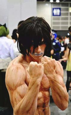 Snk Eren titan form