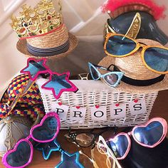 Wedding/Party Prop Box HIRE £15 (SOUTHPORT Merseyside/Lancs)