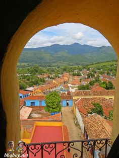 Views over Trinidad, one of the prettiest colonial towns we've seen anywhere. Lots more photos: http://bbqboy.net/photo-documentary-and-travel-tips-on-the-beautiful-town-of-trinidad-cuba/  #trinidad #cuba