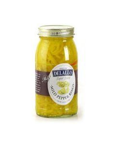 DeLallo Mild Banana Pepper Rings, 25.5-Ounce Jars (Pack of 6) #deals