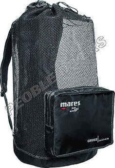 Gear Bags 29576: Mares Cruise Backpack Elite Scuba Snorkeling Gear Bag -> BUY IT NOW ONLY: $38 on eBay!