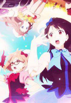 Mirai, Mitsuki & Ai | Kyoukai no Kanata