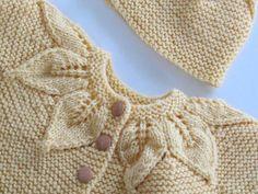 Ravelry: Project Gallery for Leaf Pattern Set pattern by Jeannine LaRoche