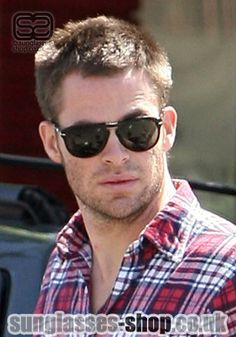 Chris Pine in shades