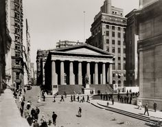 Subtreasury at Nassau & Wall Streets, 1915