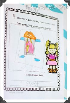Goldilocks and the Three Bears Math and Literacy {Sub Tub} - First Grade Blue Skies