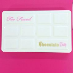 Too Faced is coming out with a chocolate chip palette!!