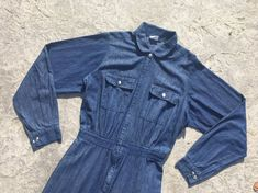 947cef4a4ecc Pin by Jeremy Chase on Vintage Denim Jumpsuit in 2018