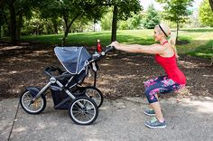 Squat with Stroller