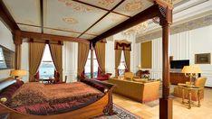 The Sultan Suite, Ciragan Palace Kempinski, Turkey...