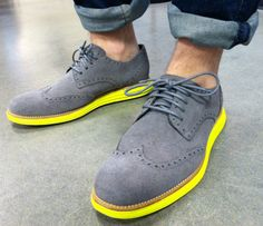 Cole Haan Lunargrand Wing Tips.