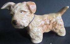 vintage SylvaC SEALYHAM TERRIER Dog Figurine # 112 - old - England Sealyham Terrier, Terrier Dogs, Vintage Pottery, Vintage Ceramic, Vintage Stuff, Kitsch, Puppy Love, Cast Iron, Dog Lovers