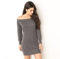 BE116 Lightweight sweater dress