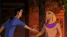 Miguel and Tulio GIF  One of my favorite duos ever.