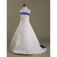 FARA - Vestido de Comunhão em Cetim – BRL R$ 277,97