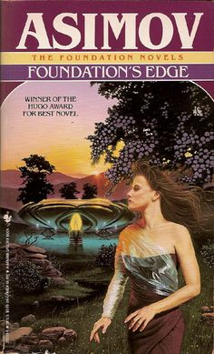 Foundation's Edge: Novel 4 by Isaac Asimov 1991 Paperback Cool Books, Sci Fi Books, I Love Books, Isaac Asimov, Fantasy Books, Sci Fi Fantasy, Asimov Foundation, Foundation Series, Orson Scott Card