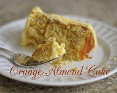 Cafe Johnsonia: Orange-Almond Cake with Grand Marnier Buttercream French Buttercream, Orange And Almond Cake, Hazelnut Cake, Cardamom Cake, Grand Marnier, Almond Cakes, Savoury Cake, Let Them Eat Cake, Dessert Recipes
