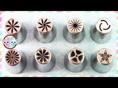 RUSSIAN PIPING TIPS, RUSSIAN TIPS, RUSSIAN PASTRY TIPS: FLOWERS - SUGARCODER - YouTube